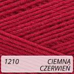 Scarlet 1210 ciemna czerwień