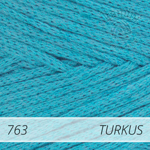 Macrame Cotton 763 turkus