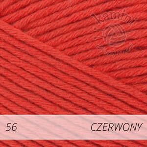 Bella 100 56 czerwony