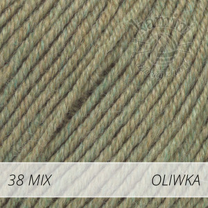 Baby Merino Mix 38 oliwka