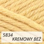 Sport Wool 5834 kremowy beż