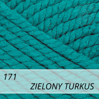 Bravo Big 171 zielony turkus