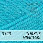 Super Bebe 3323 turkus  / niebieski