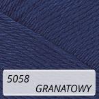 Camilla 6/4 5058 granatowy