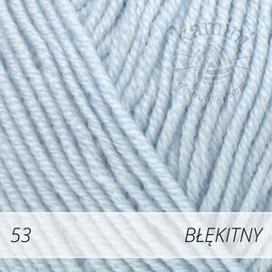 Baby Merino 53 błękitny