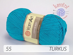Cotton Soft 55 turkus