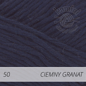 Soft Linen Mix 50 ciemny granat