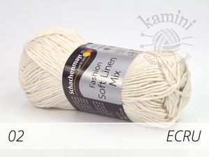 Soft Linen Mix 02 ecru