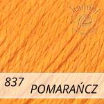 Baby Wool XL 837 pomarańczowy