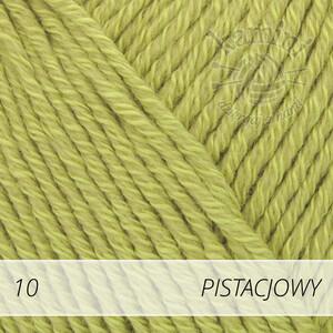 Cotton Merino 10 pistacjowy