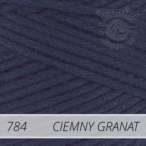 Macrame Cotton 784 ciemny granat