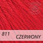 Baby Wool XL 811 czerwony