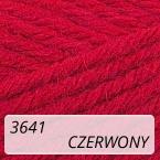 Sport Wool 3641 czerwony