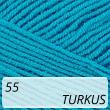 Cotton Soft 55 turkus