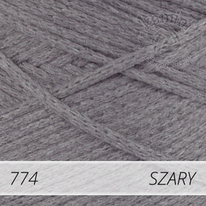 Macrame Cotton 774 szary