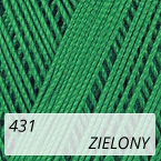 Mercerized Mini Crochet 431 zielony