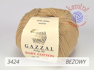 Baby Cotton 3424 beżowy
