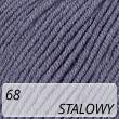 Jeans 68 stalowy