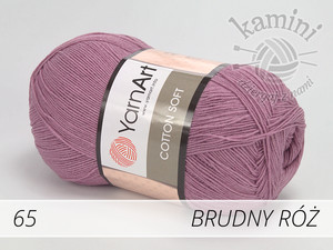 Cotton Soft 65 brudny róż