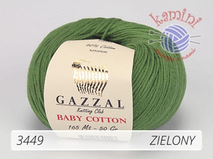 Baby Cotton 3449 zielony