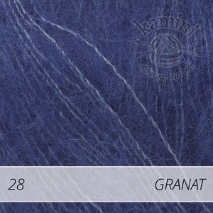 Kid-Silk 28 granat