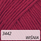 Baby Cotton 3442 wiśnia