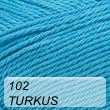 Supreme Cotton 102 turkus