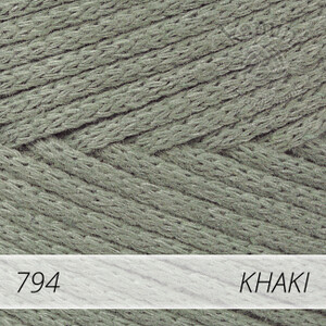 Macrame Cotton 794 khaki