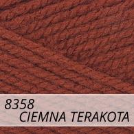 Bravo 8358 ciemna terakota
