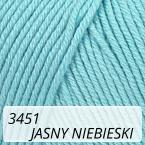 Baby Cotton 3451 jasny niebieski
