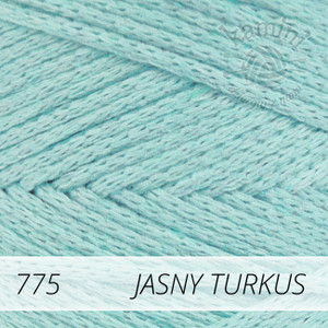 Macrame Cotton 775 jasny turkus