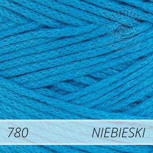 Macrame Cotton 780 niebieski