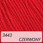 Baby Cotton 3443 czerwony