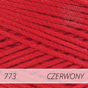 Macrame Cotton 773 czerwony