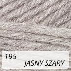 Sport Wool 195 jasny szary