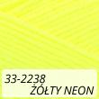 Kotek 33-2238 żółty neon