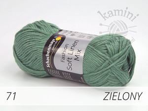 Soft Linen Mix 71 zielony