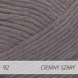 Soft Linen Mix 92 ciemny szary