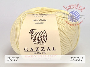 Baby Cotton 3437 ecru