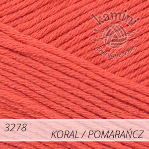 Estiva 3278 koral / pomarańcz