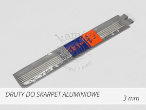 Druty do skarpet aluminiowe 3,0mm Apple