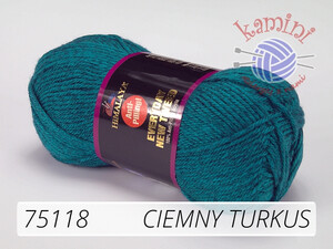 Everyday New Tweed 75118 ciemny turkus