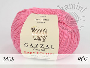 Baby Cotton 3468 róż