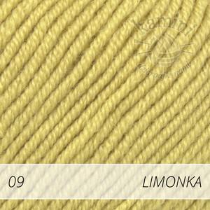 Baby Merino 09 limonka