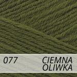 Merino Gold 077 ciemna oliwka - wycofana