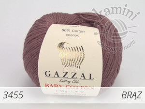 Baby Cotton 3455 brąz