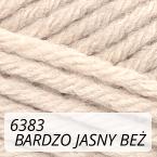 Sport Wool 6383 bardzo jasny beż