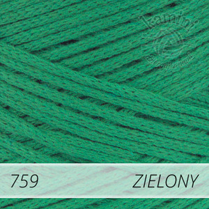 Macrame Cotton 759 zielony