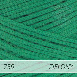 Macrame Cotton 759 zielony
