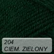 Elian Klasik 204 ciemny zielony